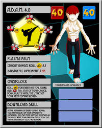WSA: A.D.A.M. 4.0 [Game Exclusive Character] by NickAlmand