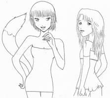 Vixen and Angel by Nanaao23