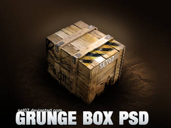 GRUNGE BOX PSD by SET07