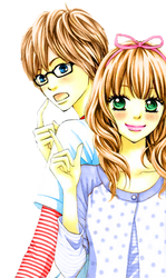 Couple Render Recolored by WackyM