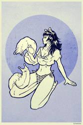 Slug Lady by Nefelynx