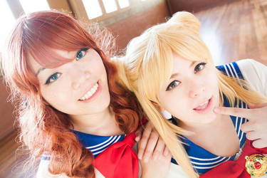 SAILOR MOON - Best Friends by Shicos