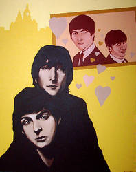 The Beatles by dCain