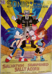 Sonic The Hedgehog Salvation Sharpened Sally Acorn by Alexey5421