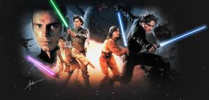 Star Wars Jedis of New Jedi Order by DarthTemoc