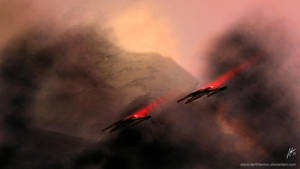 X-Wings by DarthTemoc