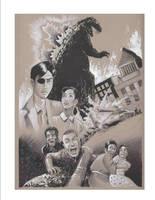 Godzilla 1954 Tribute by RaySee
