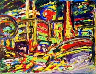 Canvas Destruction: Las Vegas by stillvisions