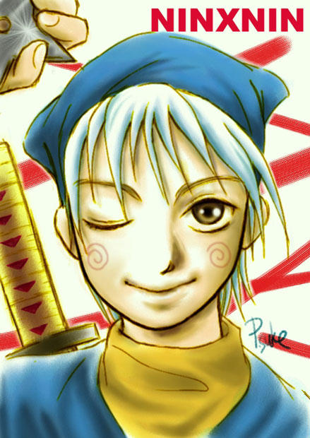Fanart Ninja Hattori Kun By Porsuke66 On Deviantart