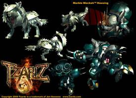 Tzardz - Dok Hound redesign by whodagoose