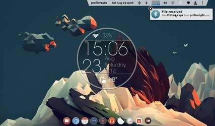 pantheon-shell (eOS) on ubuntu 12.04 by profiler1982