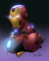 Iron Man by Tarees