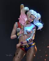Harley Quinn by Tarees