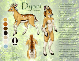 Dyani Ref - Personal Character by SilentRavyn