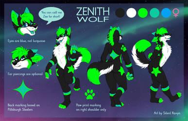 Zenith Wolf Reference Sheet by SilentRavyn