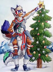 Norwegian Christmas by SilentRavyn