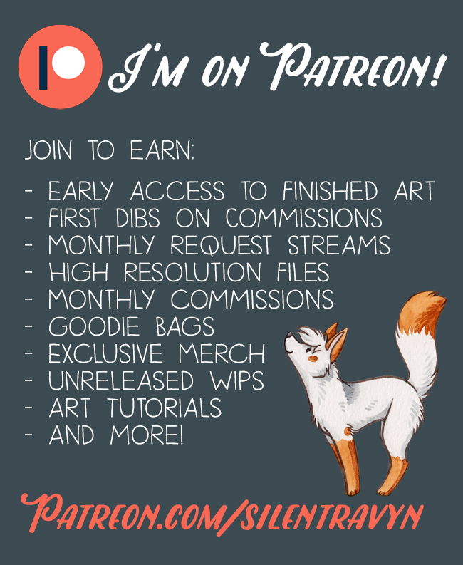 I'm on Patreon! by SilentRavyn