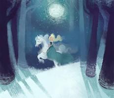 Snow queen by rokkihurtta