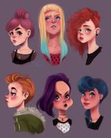 Girls by rokkihurtta