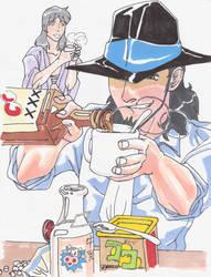 Hot Chocolate Jigen Goemon by lshikawaGoemon