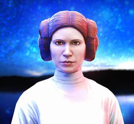 Princess Leia by LoveStruck2