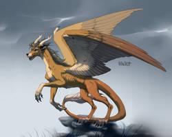 AT: Dragon by Vranokot