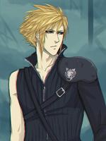 Final Fantasy VII: Cloud Strife by Captain-Toki