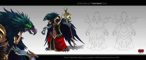 Swain_Tryant_Bird_Form by The-Bravo-Ray