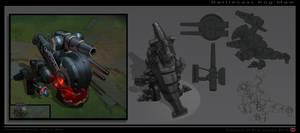Battlecast Kog'Maw by The-Bravo-Ray