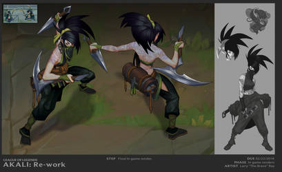 Akali In games Fin by The-Bravo-Ray