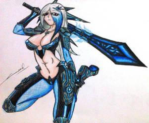 Artemis by Purgatory-Blade