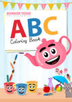 ABC Coloring Book by MS4d