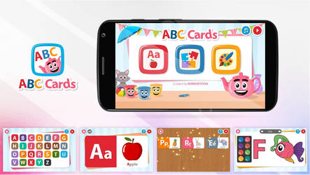 ABC Cards App by MS4d
