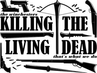 Supernatural: Killing the living dead by SandmanDreamzZz
