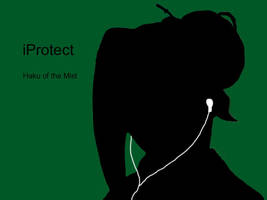iPod: Naruto Style- Haku by YuudaisAngel