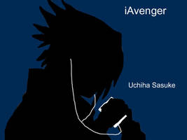 iPod: Naruto Style- Sasuke by YuudaisAngel