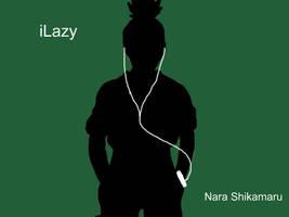 iPod: Naruto Style- Shikamaru by YuudaisAngel