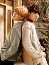 Jikook by getyourdragon