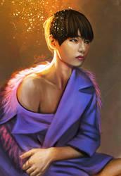 Taehyung by getyourdragon