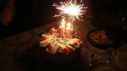 18th Birthday Cake Candles By Seans Photography On Deviantart