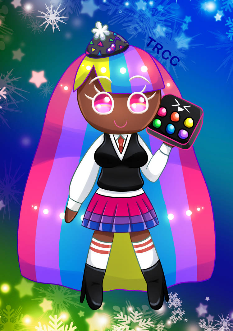 Cute and elegant DJ Cookie by TReeCreationCulture