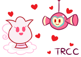 Cute pink pet by TReeCreationCulture