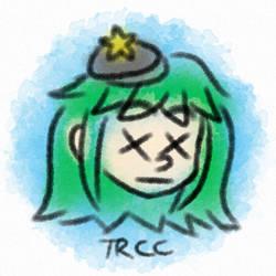 Dead Watercolor style - Green Mori Mori by TReeCreationCulture