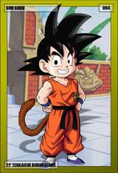 004 - Son Goku by NeoZackNeji