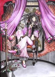 Violet by Evannrpg