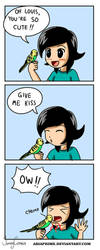 Mini Comics - Bird Love by AriaPrime