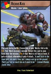 Vicious Kick by fidgetlilmeg12