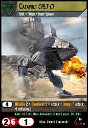 Catapult CPLT-C1 by fidgetlilmeg12
