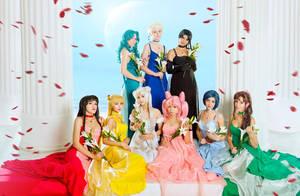 Sailor Princesses 6 by Chrome-sensei