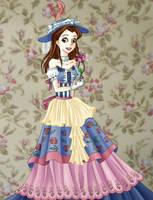 Frilly Belle by Meowkin